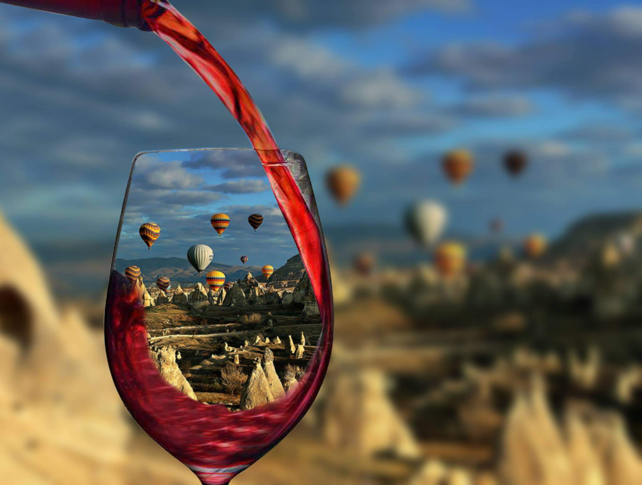 kapadokya şarap