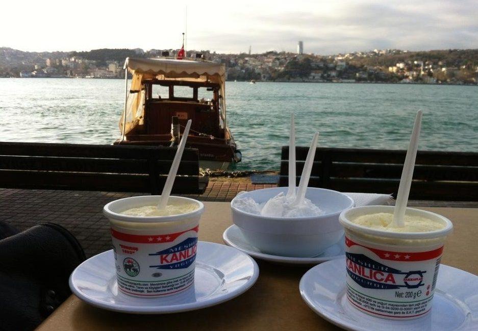 Kanlıca yoğurt tekne